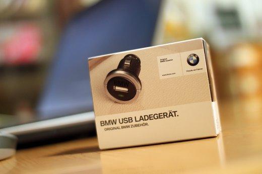 BMW純正USBチャージャーをGetしたのでレビュー♪