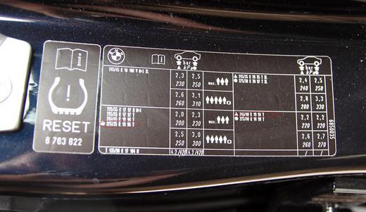 納車後1ヶ月半経ったのでフットポンプで、タイヤ空気圧調整しました♪