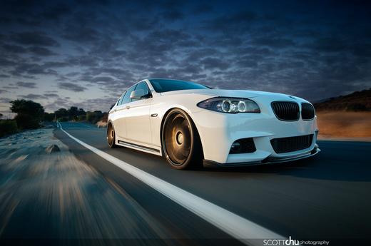 南カリフォルニアの自動車写真家スコットさん撮影のカッコいいF10写真♪