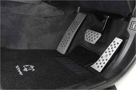BMW F10用ACシュニッツァー[AC Schnitzer]ATアルミペダルセット&アルミフットレスト装着しました♪