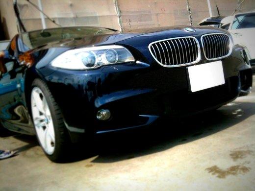【BMW F10】iDriveに触れてみる【後編】iPhoneでBluetooth接続など