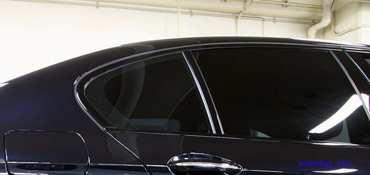 [BMW F10納車時パーツレビュー2] 【カーフィルム】IKC社『Sylphide(シルフィード)』断熱フィルム